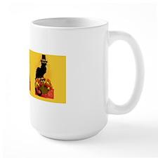 Thanksgiving Le Chat Noir With Turkey P Mug