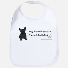 Cool French bulldog Bib