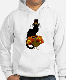 Thanksgiving Le Chat Noir With T Hoodie