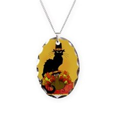 Thanksgiving Le Chat Noir With Necklace