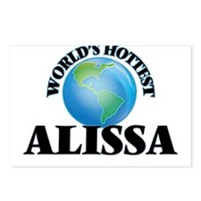 World's Hottest Alissa Postcards (Package of 8)