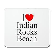 """I Love Indian Rocks Beach"" Mousepad"
