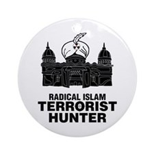 Radical Islam Ornament (Round)