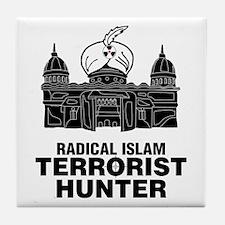 Radical Islam Tile Coaster