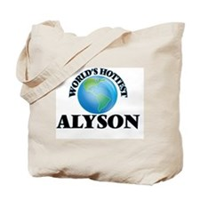 World's Hottest Alyson Tote Bag