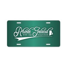 Rhode Island State of Mine Aluminum License Plate