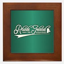 Rhode Island State of Mine Framed Tile