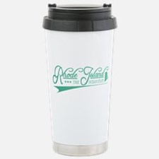 Rhode Island State of Mine Travel Mug