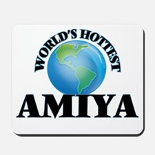 World's Hottest Amiya Mousepad