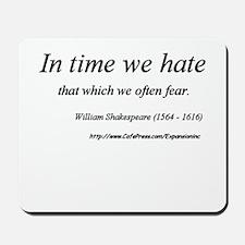 (No Fear - Shakespeare - B) Mousepad