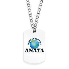 World's Hottest Anaya Dog Tags