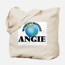 World's Hottest Angie Tote Bag
