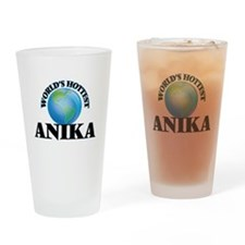 World's Hottest Anika Drinking Glass