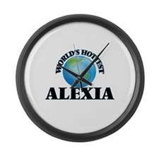 World's Hottest Alexia Large Wall Clock