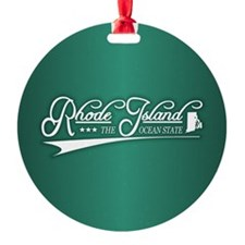 Rhode Island State of Mine Ornament