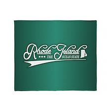 Rhode Island State of Mine Throw Blanket