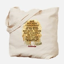 The Goldbergs Barry Band Names Tote Bag
