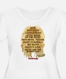 The Goldbergs Barry Band Names Plus Size T-Shirt
