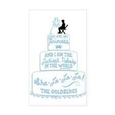 The Goldbergs Royal Wedding Decal