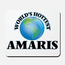 World's Hottest Amaris Mousepad
