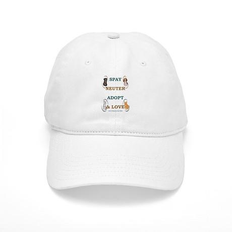 SPAY/NEUTER/ADOPT/LOVE Cap