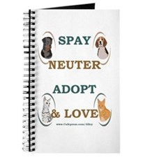 SPAY/NEUTER/ADOPT/LOVE Journal