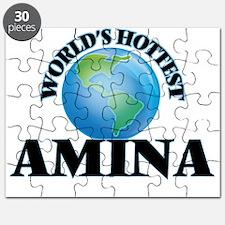 World's Hottest Amina Puzzle