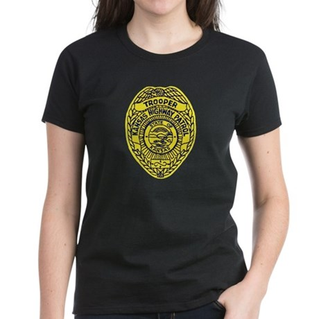 Kansas Highway Patrol Women's Dark T-Shirt