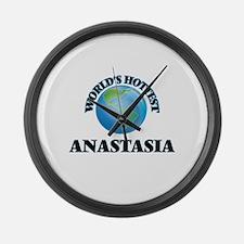 World's Hottest Anastasia Large Wall Clock