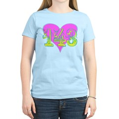 143 - I Love You T-Shirt