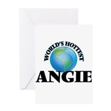 World's Hottest Angie Greeting Cards