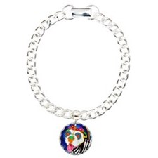 Roxy the Bulldog Charm Bracelet, One Charm