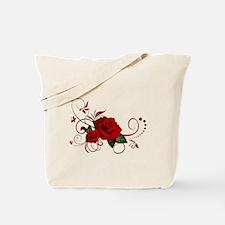 red roses Tote Bag
