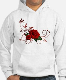red roses Jumper Hoody