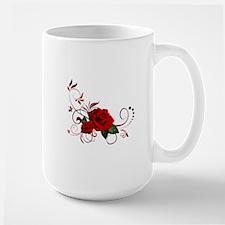 red roses Large Mug
