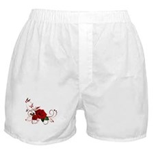 red roses Boxer Shorts