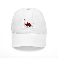red roses Baseball Cap