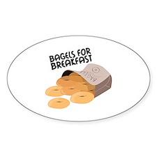 Breakfast Bagels Decal