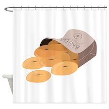 Bagel Bag Shower Curtain
