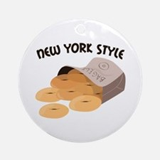 New York Style Ornament (Round)