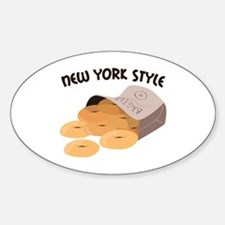 New York Style Decal