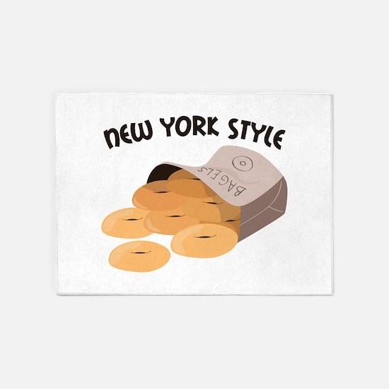 New York Style 5'x7'Area Rug