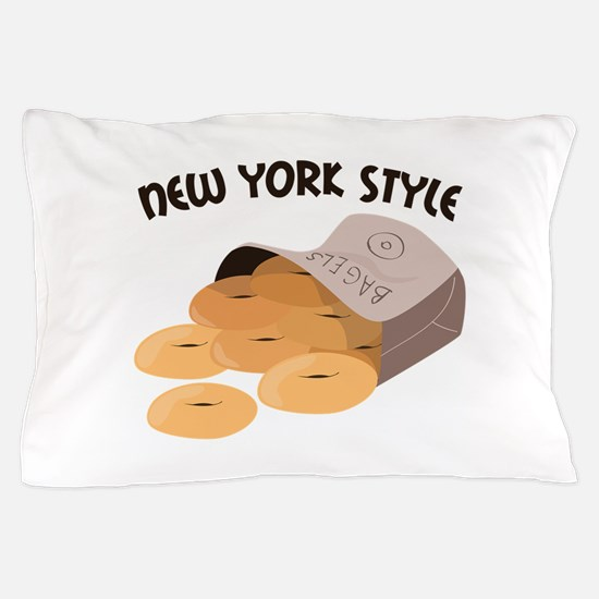 New York Style Pillow Case