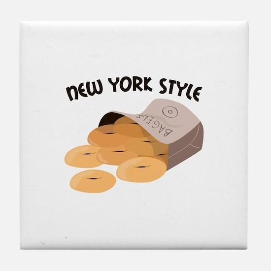 New York Style Tile Coaster