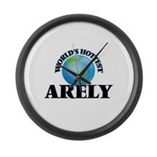 World's Hottest Arely Large Wall Clock