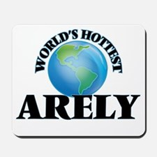 World's Hottest Arely Mousepad