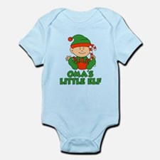 Oma's Little Elf Body Suit