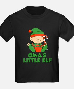 Oma's Little Elf T-Shirt