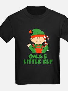 Oma's Little Elf T-Shirt