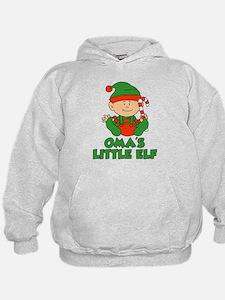 Oma's Little Elf Hoodie